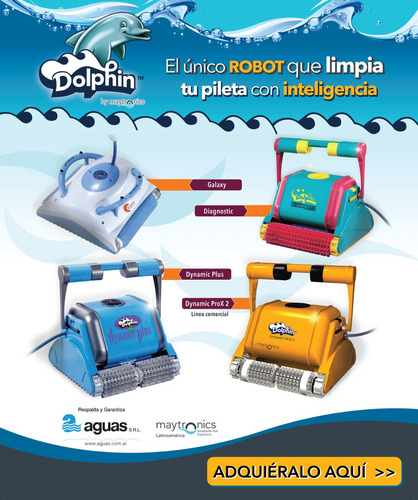 robot dolphin dynamic pro x 2 piletas publicas y hoteles