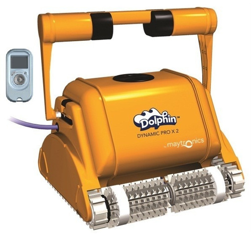robot dolphin dynamic prox2 limpia fondo piletas con carrito