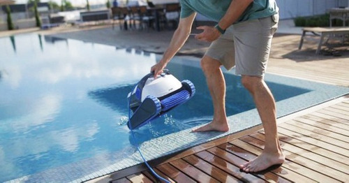 robot dolphin s300i limpia piletas con carrito de regalo