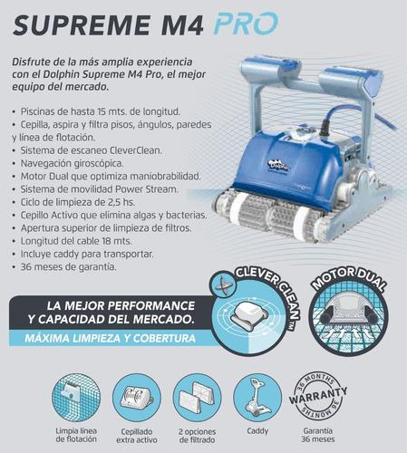robot dolphin supreme m4 pro pvc