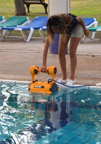 robot dolphin wave 30 piletas de hasta 15mt profesional