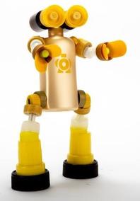 Robot Eco Juguete Articulado Con Material Reciclado