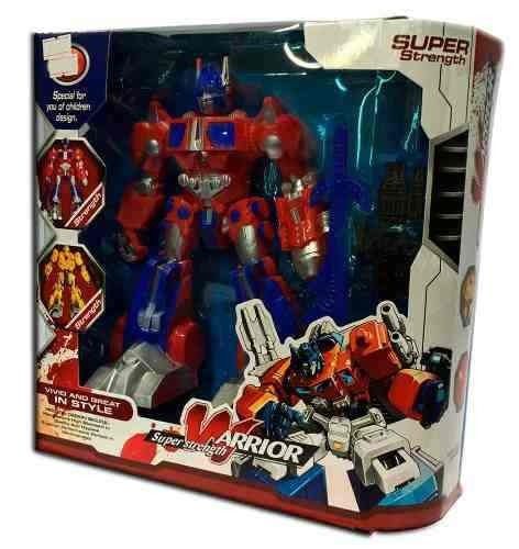 robot guerrero warrior super fuerza original nenes