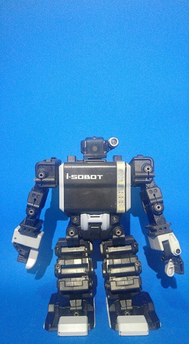 robot i-sobot  en su caja original