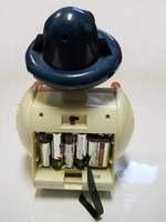 robot juguete - mprv apollo 7 - 1980's - programable!!!