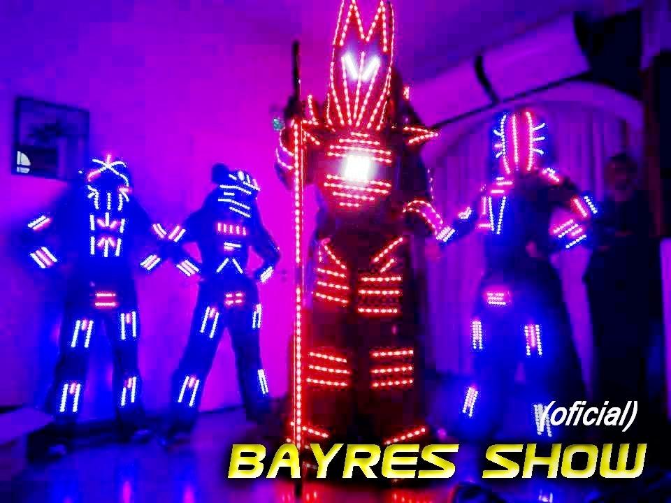 3eb0d762d1 Robot Led 15 Años Bodas Eventos Disfraces Animacion Show - en ...