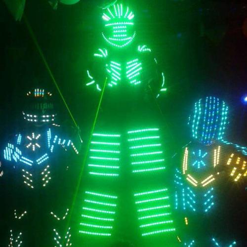 robot led atom , electron y molecular