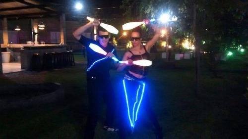 robot led - batucadas - show de animacion - bandas