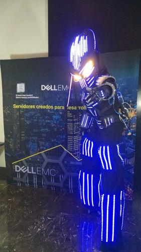 robot led  gigantes espectacular show