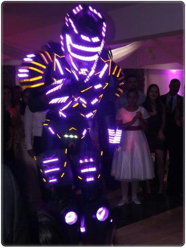 robot led para todo tipo de eventos - divertyshow