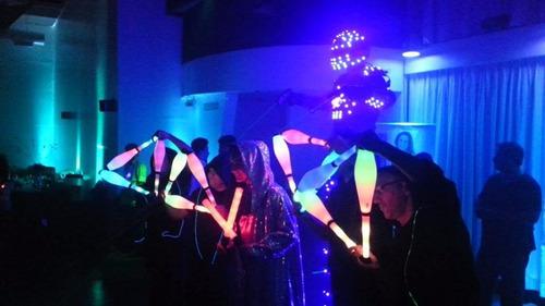 robot led - show de animacion - armamos el show junto a vos