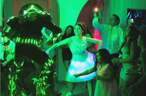 robot led show zona sur!!
