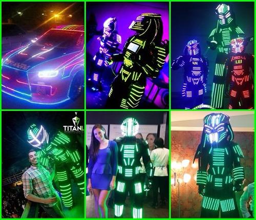 robot led. venta,confeccion personalizada y show matrimonios
