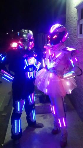 robot led zancos mimos samba cotillon zulia