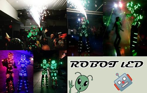 robot led/mimos/zanqueros/personajes y mucho mas.