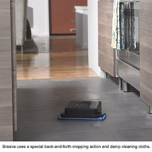 robot limpiador de pisos irobot braava