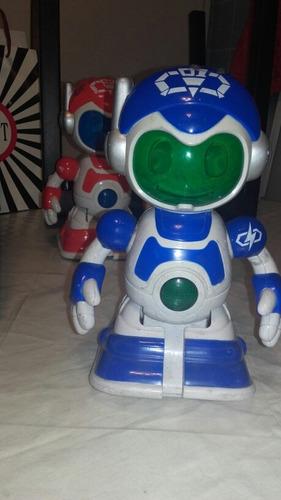 robot luces sonido movimientos dia del niño