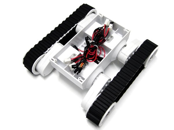 Robot movil chasis rovers orugas pic raspberry arduino
