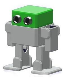 Robot Otto Diy Con Brazos Armado Listo Para Usar Arduino