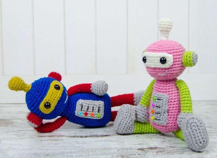 Crochet pattern Robot - Amigurumi (LittleOwlsHut) eBook: Astashova ... | 529x729