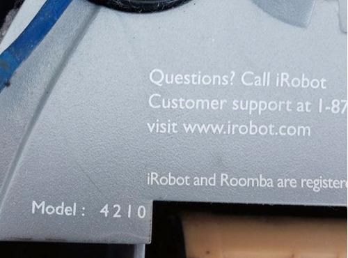 robot roomba aspiradora