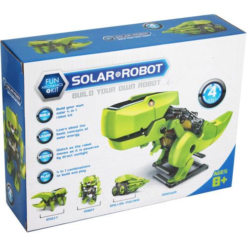 robot solar 4 en 1 dinobot armable robotica c- 14-13-7