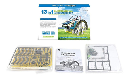 robot solar kit robotica 13 en 1 proyecto ciencia cod: 14 1