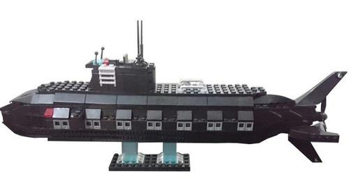 robot transformer submarino 2en1 bloques cogo army armable
