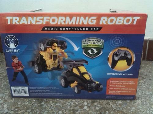 robot trasformers a control remoto