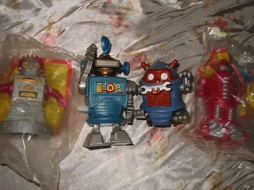 robot x 4 kids nickelodeon juego didactico burguer king