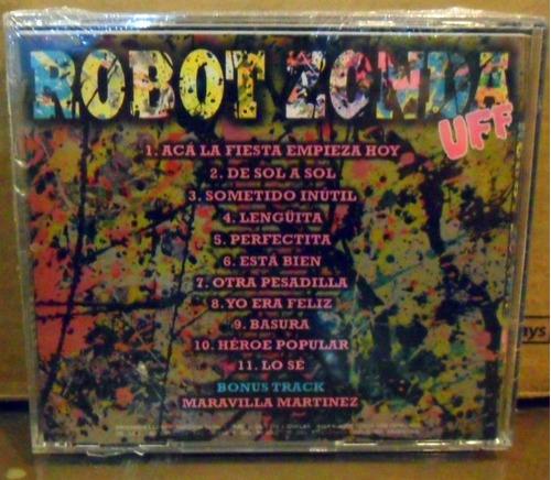 robot zonda uff cd nuevo y sellado 2013 eureka