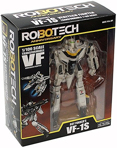 robotech 30 aniversario roy fokker vf-1s transformable...