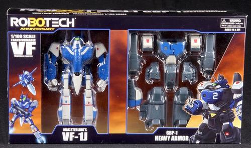robotech macross max sterling vf-1j veritech gbp-1 armored