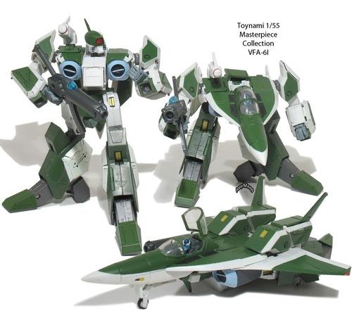 robotech masterpiece collection vol3 segunda generación