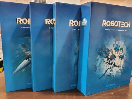 robotech protoculture collection set