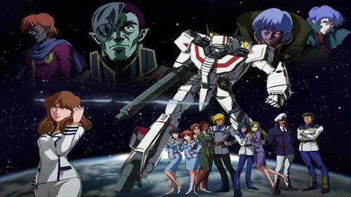 robotech (serie animada de 1985) saga macross