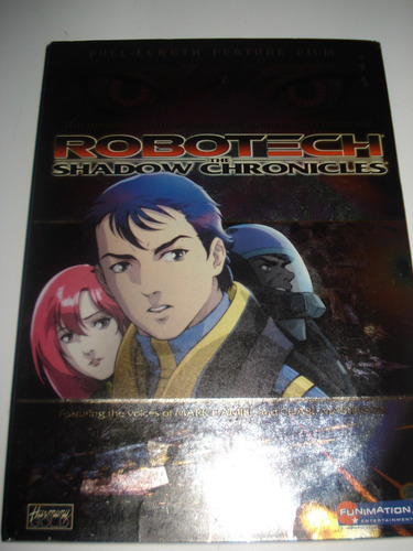 robotech the shadows chronicles dvd ingles y japones