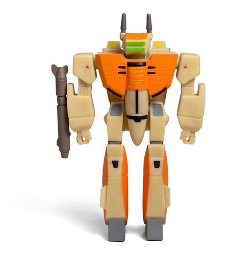 robotech vf-1d figura articulada súper 7 ideal cole