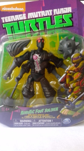 robotic footsoldier/robo pie de tortugas ninja