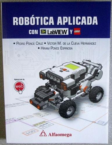 robótica aplicada con labview y lego - alfaomega