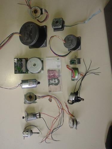 robotica motores de paso acondicionamiento y banco de prueb