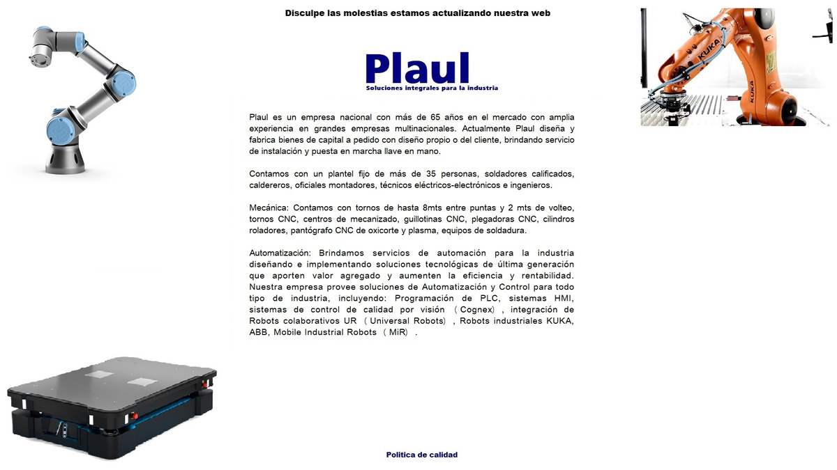 Robots Kuka Automatización Industrial Cognex Cobots Plc - en