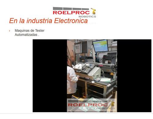 robots, maquinados, servicio industria, automatización