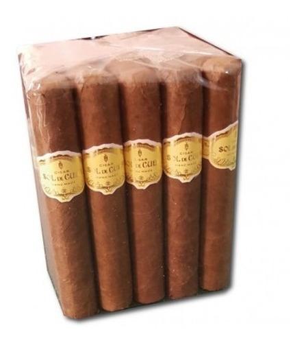 robustos caja x3 sol de cuba cigarros puros cigarro robusto