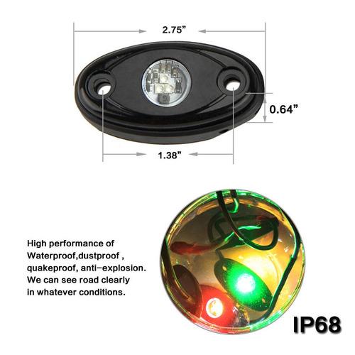 roca de 10 x 9w cree led luces para jeep off... (green)