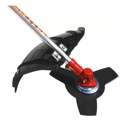 roçadeira cortador mato grama grh430 gasolina 2temp terra