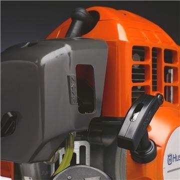 roçadeira gasolina husqvarna 236r 33,6cc 1,6hp nylon e faca