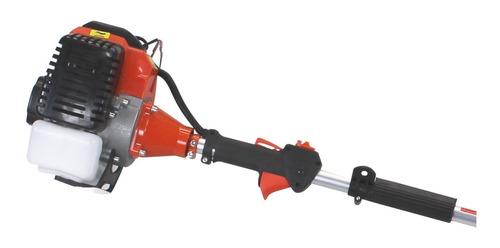roçadeira à gasolina lateral multifuncional 5 em 1 - 52cc