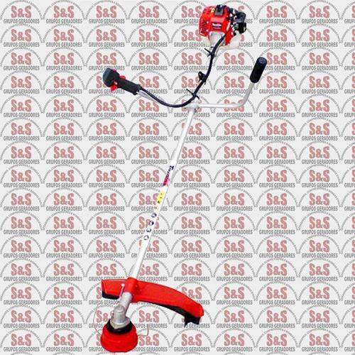 roçadeira lateral a gasolina semi profissional - motor 1,0 h
