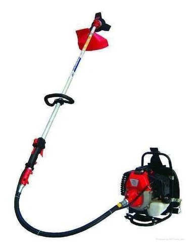 roçadeira profissional costal  gasolina 58cc com acessorios